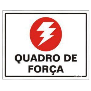 placa quadro de forca